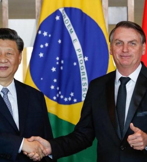China disponibilizará US$ 100 bilhões para governo brasileiro.