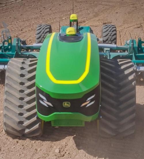 Drone gigante e trator autônomo são apresentados pela John Deere na Agritechnica.