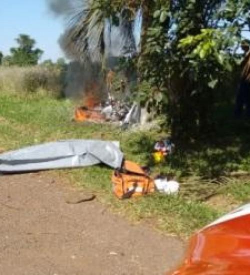 Motociclista morre após colisão em árvore em Itapiranga.