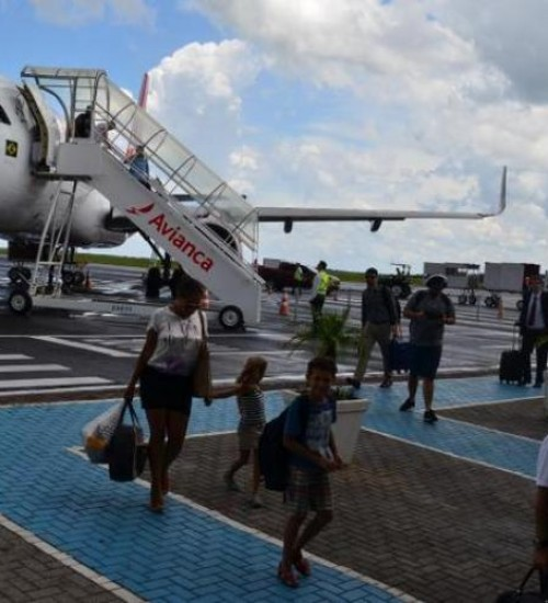 TCE suspende edital de concessão do aeroporto de Chapecó.