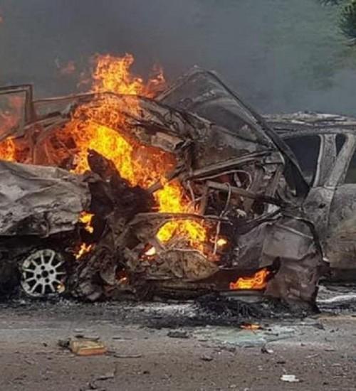 Acidente envolvendo 6 veículos deixa 5 pessoas mortas na BR-116, na Serra de SC.