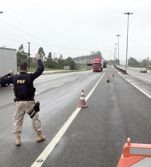Fiscalização nas estradas: veja como será a ação da PRF e da PMRv em SC.