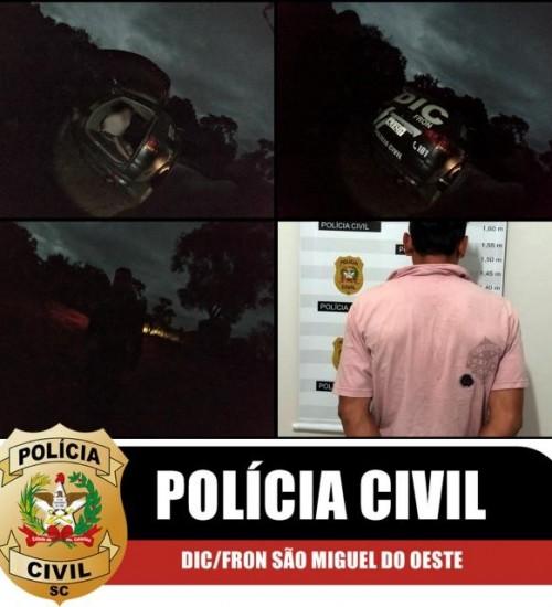 Foragido da Justiça é preso pela Polícia Civil em Barra Bonita.