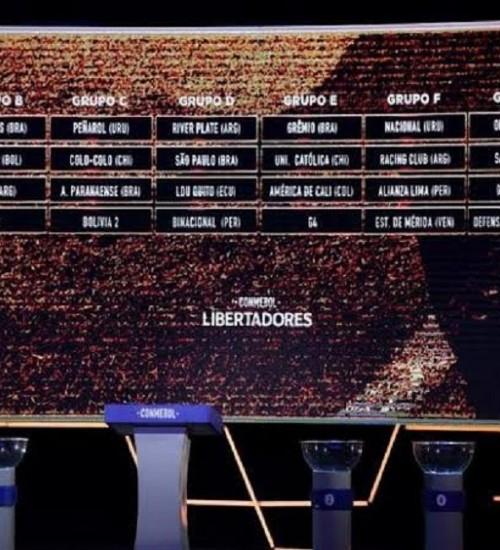 Inter ficará no grupo do Grêmio caso passe pela pré-Libertadores.
