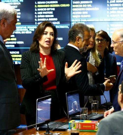 No Senado, CCJ aprova pacote anticrime e prisão em segunda instância.