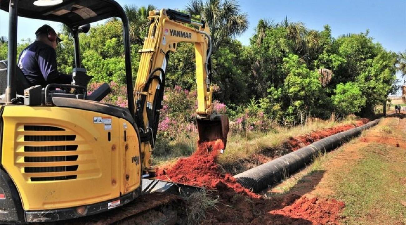 Programa Saneamento Rural Brasil pretende beneficiar cerca de 40 milhões de pessoas.