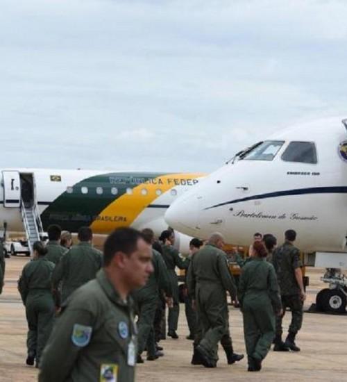 Aeronaves da FAB partem em missão de repatriação de brasileiros que estão em Wuhan.