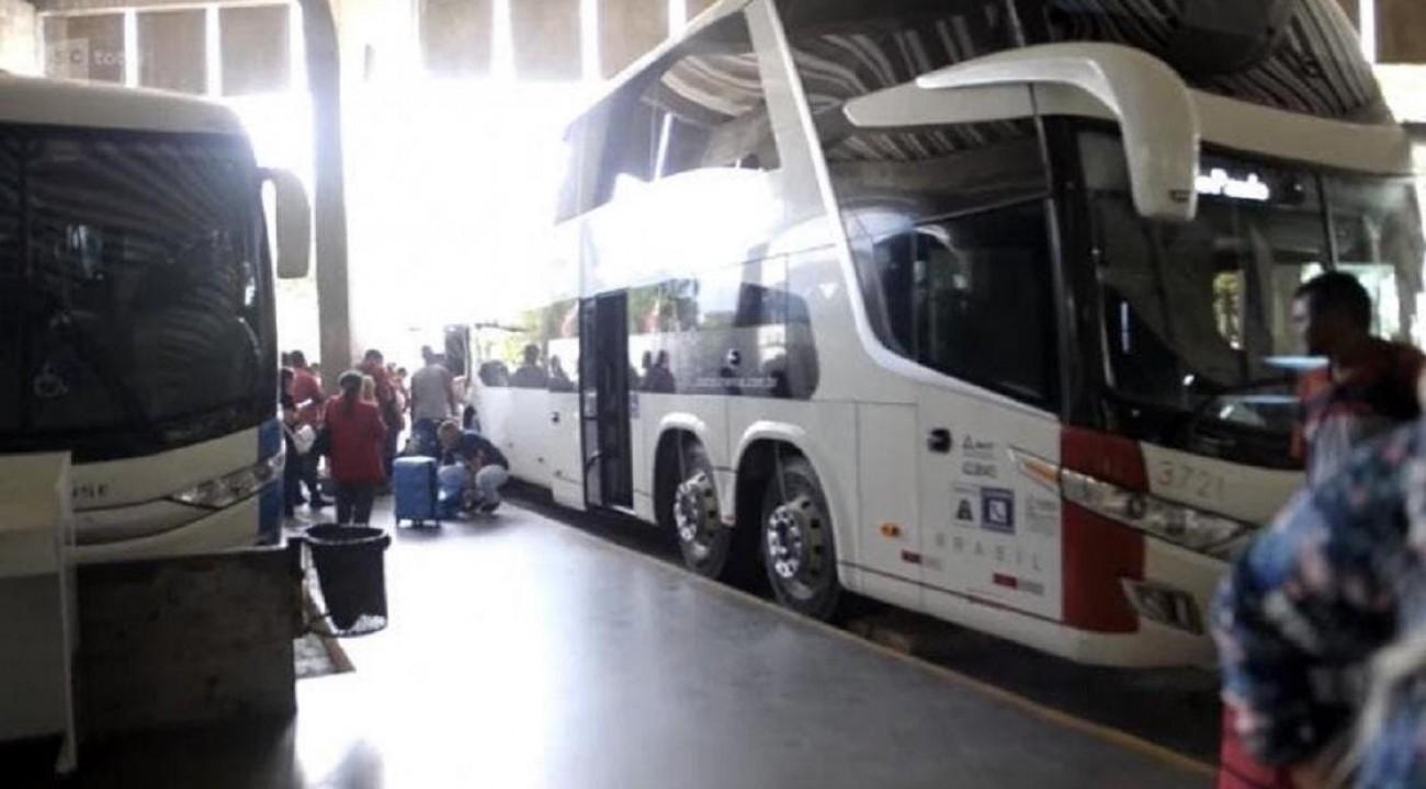 Santa Catarina teve 23 assaltos a ônibus em 2019.