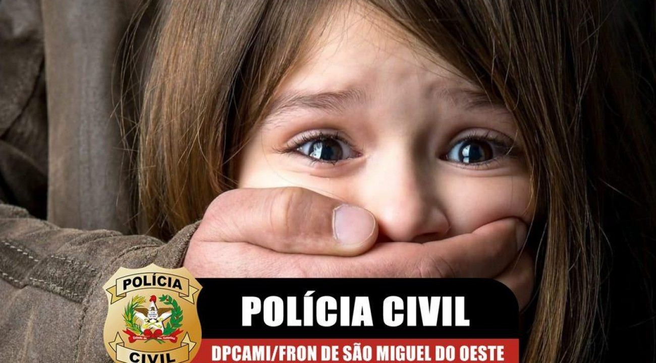 Suspeito de estuprar a própria filha é preso pela Polícia Civil em SMOeste.