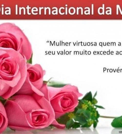 8 de março dia internacional da Mulher.