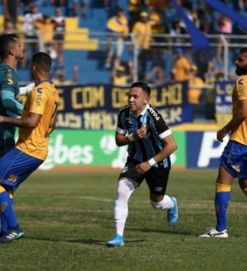 Com gol no início do jogo, reservas do Grêmio vencem o Pelotas.