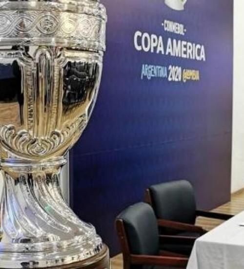 Copa América é adiada para 2021 por causa da pandemia do coronavírus.