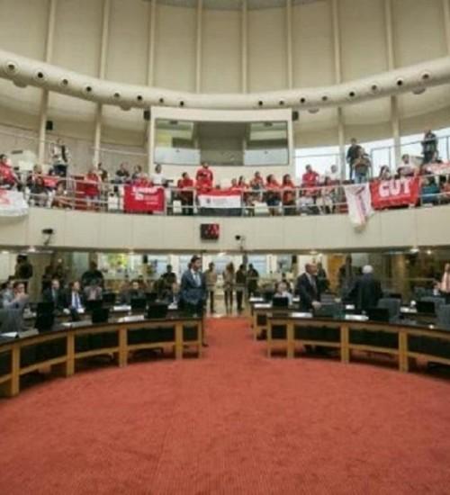 Governo retira regime de urgência da Reforma de Previdência estadual que tramita na Alesc.