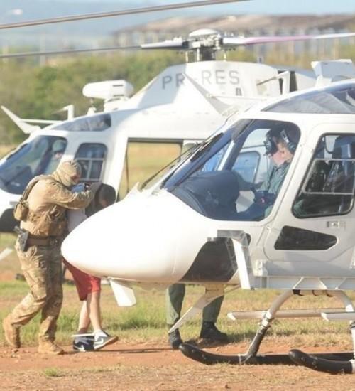 Megaoperação transfere 18 líderes de facções no RS para prisões federais.