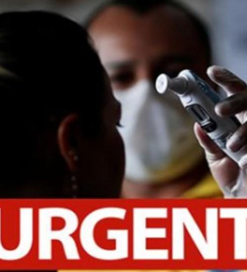 Ministro da Saúde declara transmissão comunitária Nacional para o Coronavírus e casos sobem 45% em um dia no Brasil.