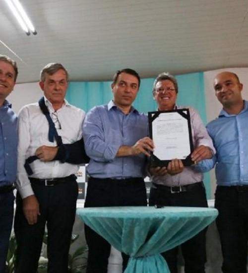 No Extremo-Oeste, governador libera R$ 2,4 milhões para a região de Palmitos.