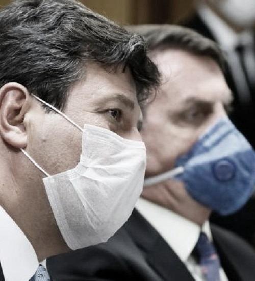 'No final de abril nosso sistema de saúde entra em colapso', alerta ministro da Saúde.