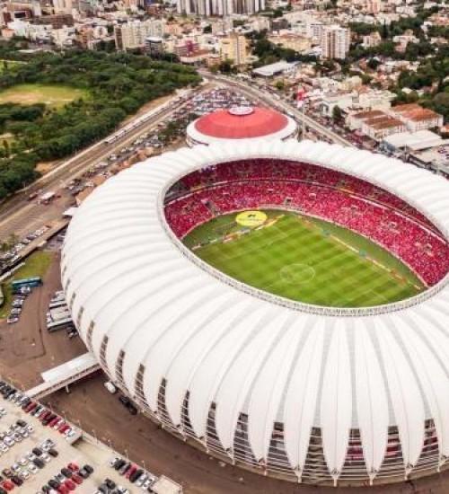 Após entregar formulário, Inter aguardará inspeção para saber se Beira-Rio sediará final da Libertadores.