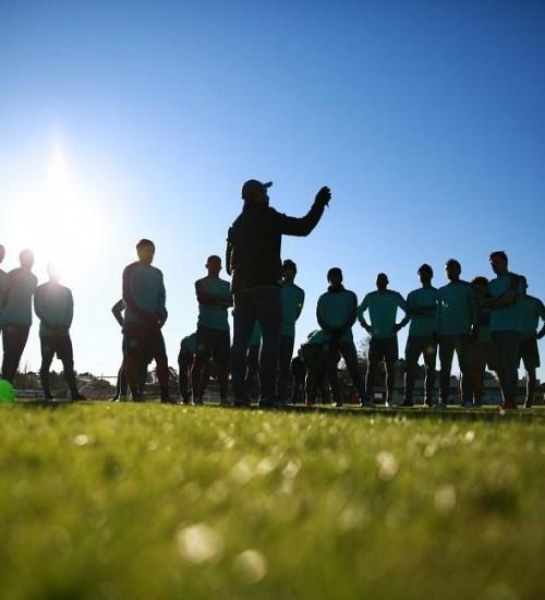 Chapecoense volta aos treinamentos através de plataforma virtual.