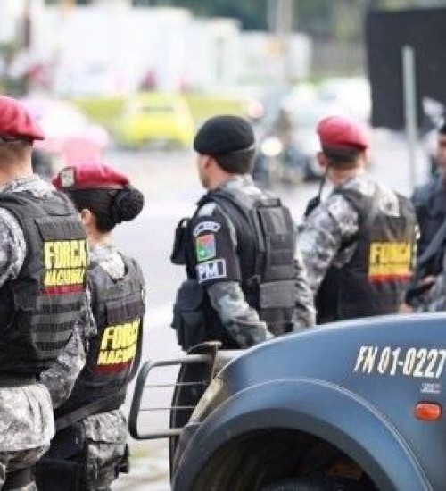 Força Nacional de Segurança Pública segue apoiando PF na região.