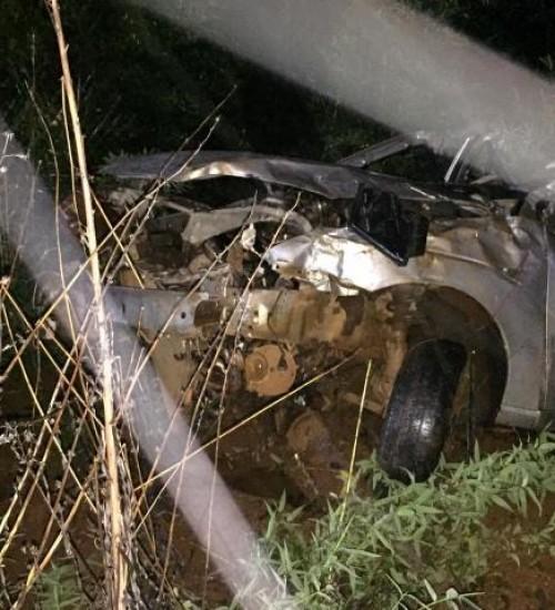 Grave acidente mata dois jovens na BR-282 em Maravilha.