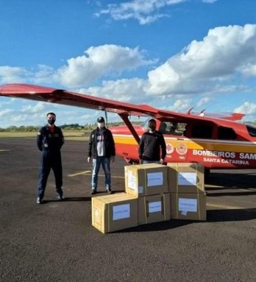 36 mil kits de testes rápidos da Covid-19 chegam para o Oeste.