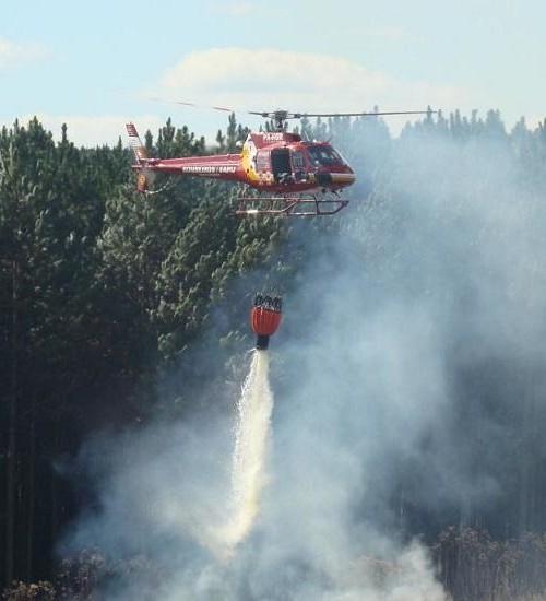 Em maio, Santa Catarina registra maior número de incêndios florestais em quatro anos.