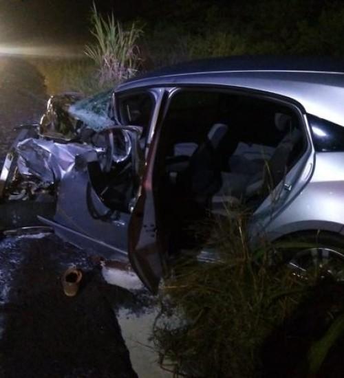 Homem morre em grave acidente na SC-163, em Iporã do Oeste.