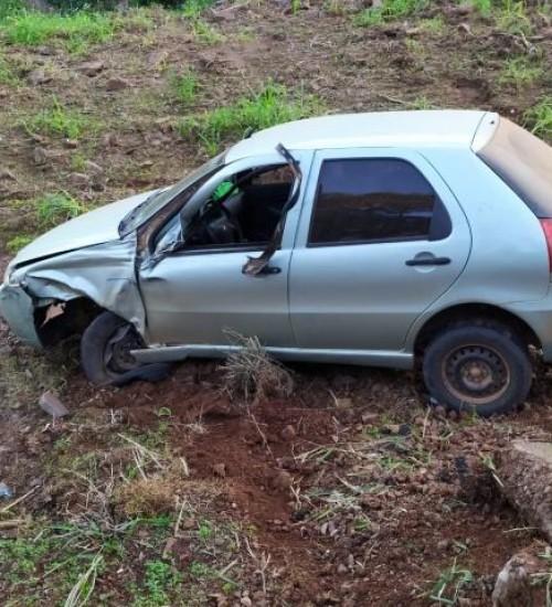 PMRv de Iporã do Oeste registra dois acidentes na SC 163.