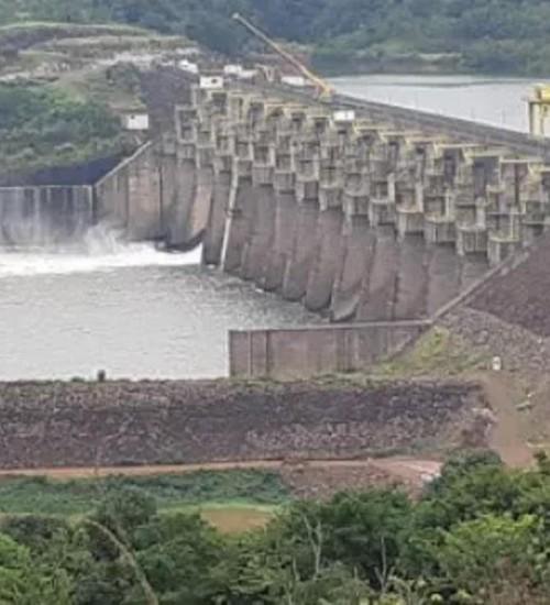Vazão mínima liberada pela hidrelétrica Foz do Chapecó (RS/SC) segue no patamar de teste de 150m³/s.