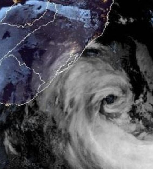 Ciclone em SC teve ventos de até 168 km/h, maior velocidade já registrada pela Epagri.