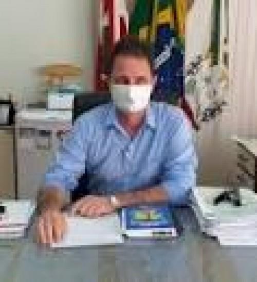 Prefeito de Tunápolis se recupera após confirmação de Covid-19.