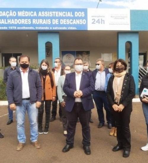 Hospitais do Extremo Oeste contestam exclusão das entidades da política hospitalar catarinense.