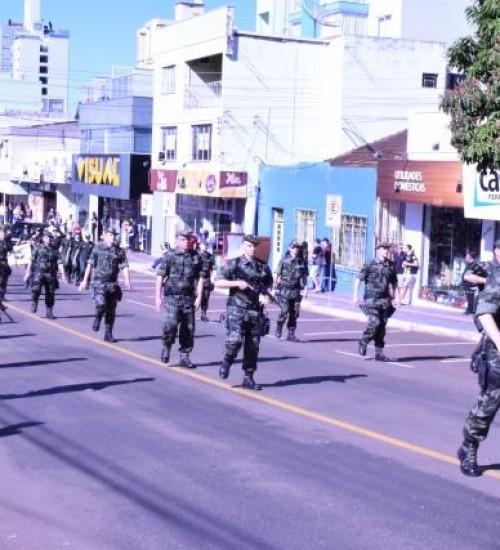 Tradicional desfile de 7 de setembro de SMOeste é cancelado por causa da pandemia.