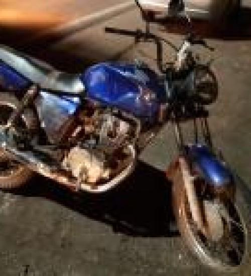 Motociclista fica ferido em acidente na Willy Barth em SMO