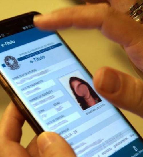 Eleitor poderá justificar ausência nas votações através do celular
