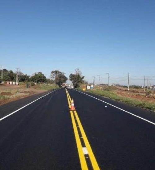 Governo Federal entrega mais 12 quilômetros de restauração da BR-282/SC