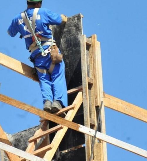 Índice de emprego da construção tem maior resultado desde 2012