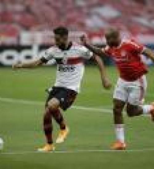 Inter e Flamengo empatam, e Colorado lidera pelo saldo de gols