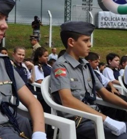 PMSC abre as inscrições para ingresso nos Colégios Policiais Militares