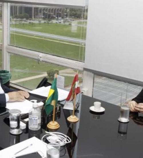 Governadora traça estratégias com o ministro do Desenvolvimento Regional para minimizar o impacto da estiagem