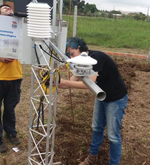 Estação meteorológica de São Miguel do Oeste retoma monitoramento e emissão de boletins.