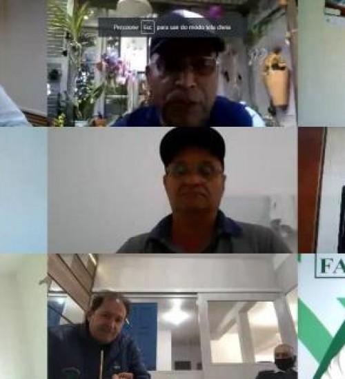 Faesc reúne dirigentes sindicais de SC em assembleia remota.