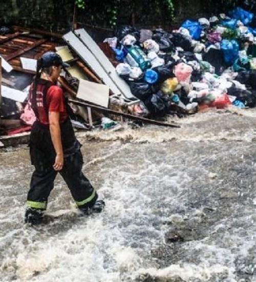 SC tem janeiro mais chuvoso dos últimos 3 anos, aponta Defesa Civil.