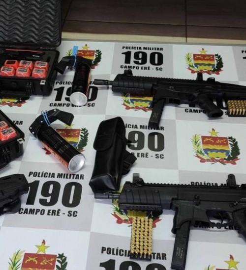 Destacamentos recebem mais de R$22 mil em armamento na Fronteira