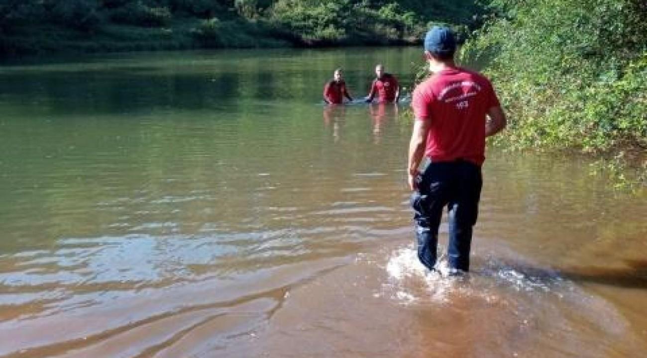 Homem morre afogado no Rio das Antas, no interior de Iporã do Oeste.