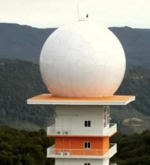 Radar de Lontras volta a funcionar depois de meses desligado.