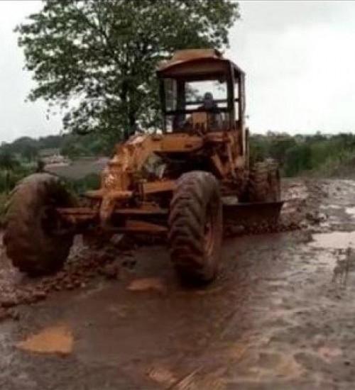 Tunápolis estabelece prioridades para manter estradas em boas condições.