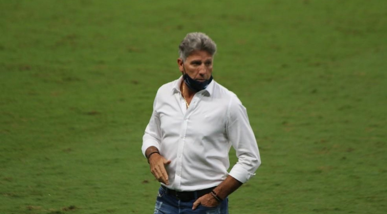 Grêmio confirma que Renato testou positivo para Covid-19.