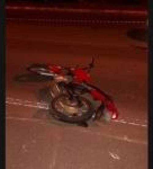 Jovem morre após colisão entre carro e moto em Mondaí